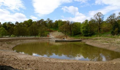 Improving water quality at the Red Burn (c) Scottish Wildlife Trust