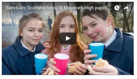 Sanctuary Scotland helps high school pupils experience nature