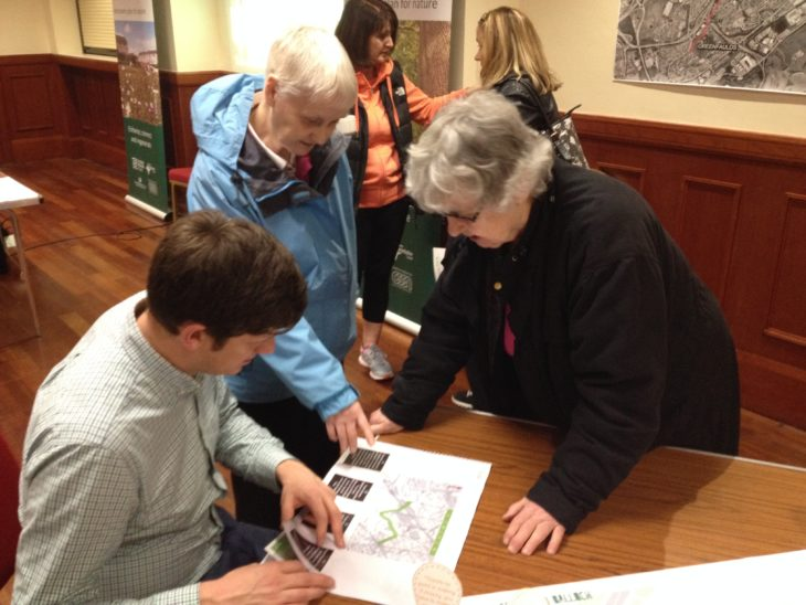 Consulting with local residents on our plans